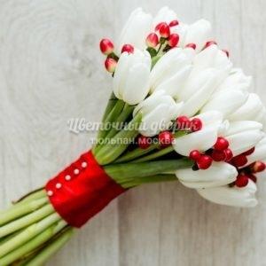 """Букет невесты """"Белоснежка-25"""""""